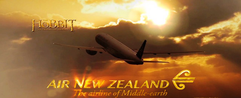 Air New Zealand Middle Earth The Hobbit