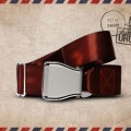 Packshot Airline Aircraft Seat Belt Brown Uluru