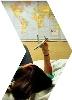 Carte Monde Voyage Avion Rêve
