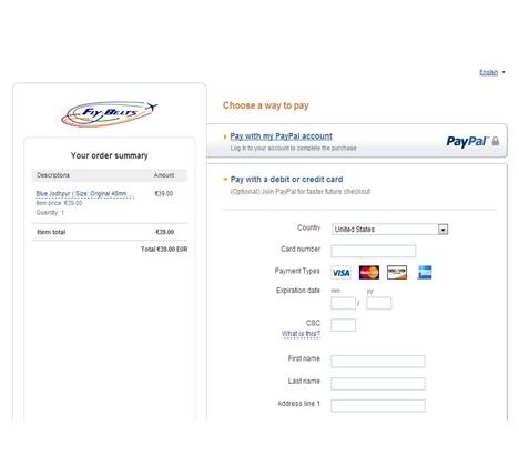 Paiement s curis via paypal tous types de cartes bleues accept s - Paiement plusieurs fois paypal ...