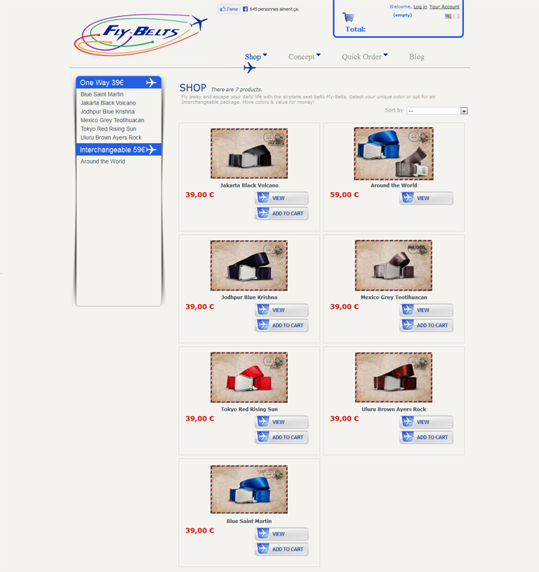 Fly Belts But Enhanced Our New Website