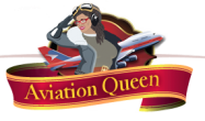 Aviation Queen Logo