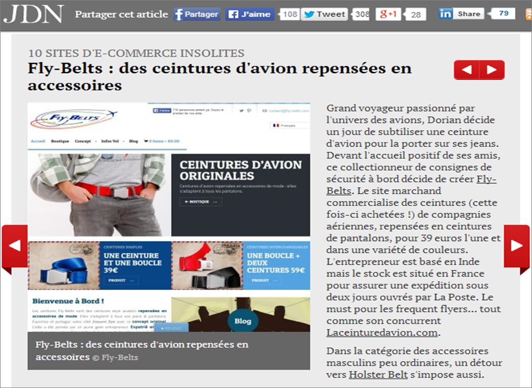 Review Journal du Net Screenshot